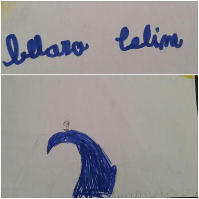 Conte sorcière - mots et dessins d'élèves Jules Ferry