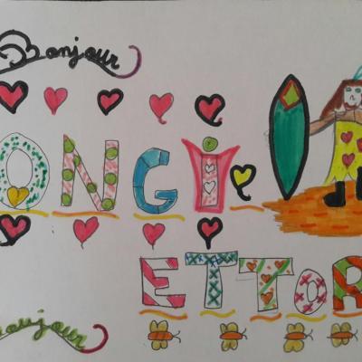 Conte sorcière - Ongi Etorri dessiné par les papillons