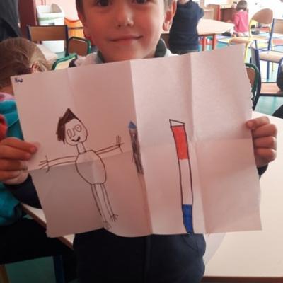 Conte basque - dessin Pika et le bâton magique