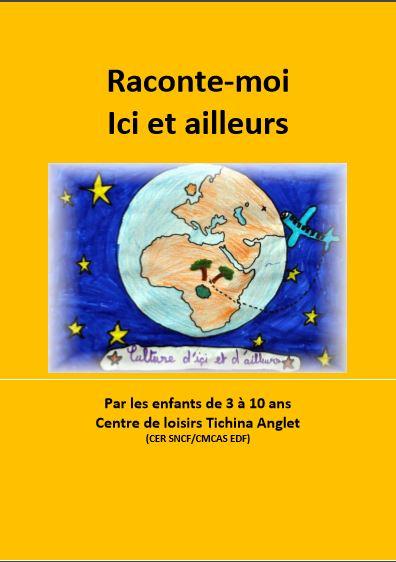 Couverture conte  enfant CE SNCF