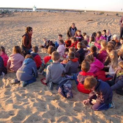 Conte basque - élèves attentifs
