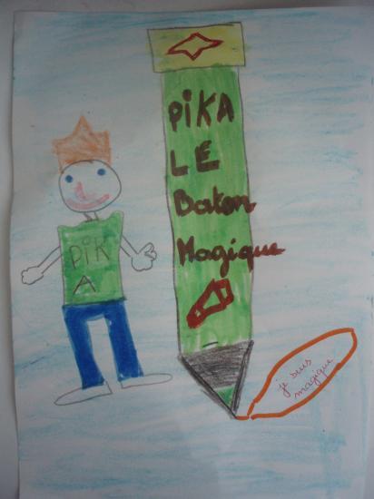 Pika et le bâton magique